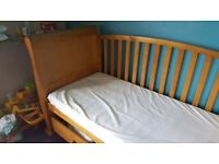 Cot sleigh bed