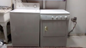 Washer & Dryer great working condition Available oct 26(SOLD)