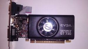 GeForce 730 2GB GDDR5 Graphics card