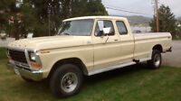 1979 F250 FORD 4X4 SUPER CAB