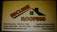 Roofing and fencing. FREE ESTIMATES