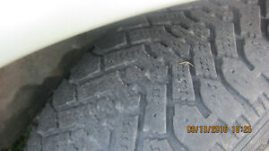 goodyear nordics  winter tires on pontiac rims Peterborough Peterborough Area image 5