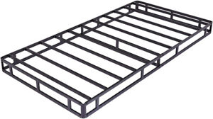 bed frame twin size heavy metal