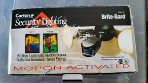 Carlon Security Lighting Motion Activated