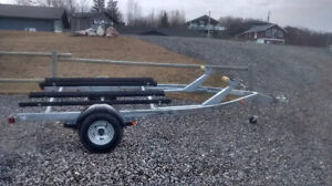 Brand new double bunk galvanized PWC trailer cheap at 1950 cash