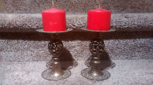 Fancy Brass Candle Holders Kitchener / Waterloo Kitchener Area image 3