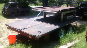 8x14 ft trailer steel bed good condition $3000
