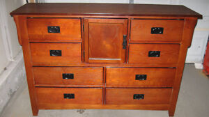 FS: Solid Wood Dresser with 9 drawers in excellent condition