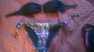 SWIMSUIT 2 PIECES, LIKE NEW! (UNDERWEAR NEW!!!) SMALL SIZE