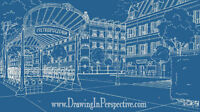 GRAPHIC DESIGN / ILLUSTRATION: PERSPECTIVE & STRUCTURAL DRAWING