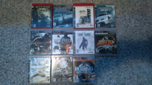 Ps3 games for sale $75