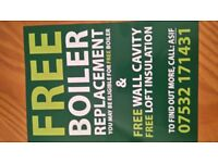 FREE ENERGY EFFICIENT BOILERS GRANTS!!
