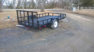 2016 custom built trailer