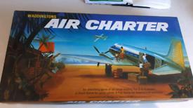 Waddingtons Air Charter Vintage Board Game 1970 Retro