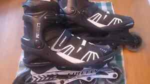 Size 11 men's Firefly rollerblades