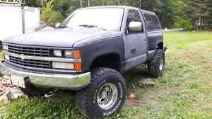 1988 Chevy short box step side 4x4