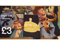 Toy story single bedding Disney