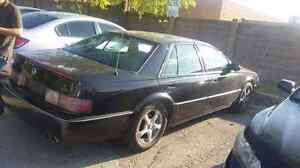 1996 black Cadillac Siville STS