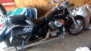 2001 Honda Shadow ace.