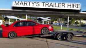 CAR TRAILER HIRE $ 80 FLAT RATE  NO MORE  NO LESS North St Marys Penrith Area Preview