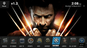 2017 3D 4K MODEL Android TV running Kodi 17  krypton Edmonton Edmonton Area image 7