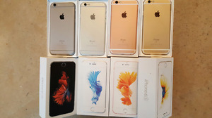 iphone 6 and iPhone 6s grey, silver, gold and rose-gold UNLOCKED