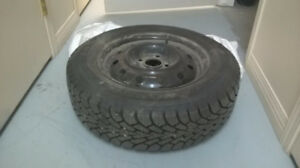 Winter tire and rim for sale