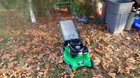 LawnBoy mower 2014: pull and key start with bagger selfpropelled