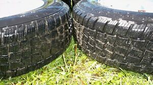 5-205/70/15 WINTER TIRES AND RIMS FOR GM FWD....$200!! Kingston Kingston Area image 2