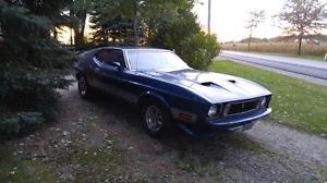 1973 Mustang Mach 1 fastback