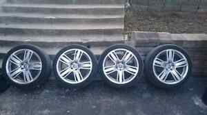 Roues audi allroad 5x112.  245/40/19