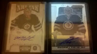 Winnipeg Jets Auto/Patch/Young Guns Hockey cards