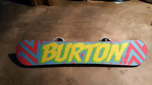 Burton Blunt 155 with Mission Bindings