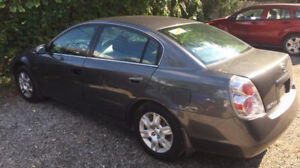 2005 NISSAN ALTIMA 2.5S, LOW KMS, SAFETY INCLUDED!!!