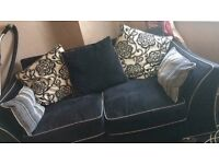 Immaculate 2 piece sofa with swivel chair not even 4 to 5 months old