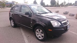 2008 Saturn Vue XR 6 cylinder - Black with beige interior