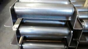 """New - Heavy Duty Gravity Roller Lanes - In Stock - 12"""" + 9"""" wide"""