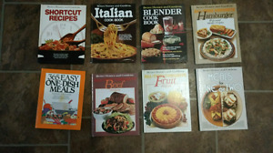 Cooking books-assorted