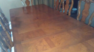 Dining Room Table with 12 Queen Anne Chairs from the Art Shoppe Oakville / Halton Region Toronto (GTA) image 4