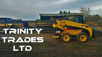Transportation to Site: Materials, Skid Steers, Equipment