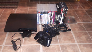 PS3 with 22 games