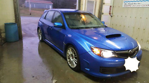 Subaru sti with WARRANTY BUMPER TO BUMPER