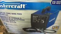 MIG/FLUX CORE WELDER. MASTERCRAFT
