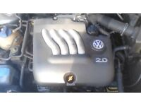 VW AQY 2.0 petrol engine 153k