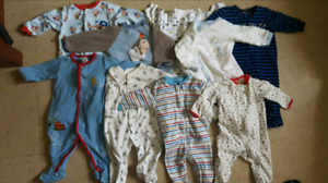 Boys 3-6 month sleepers