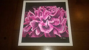 "Limited Edition - Acrylic Painting Art Print - ""Lola's Peony"""