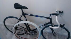 Trek 1420 21 speed road bike with extras