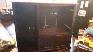 TV Unit Solid Wood