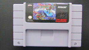 Cassette Super Nintendo Ninja Turtles 4