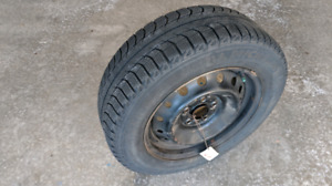 Michelin X-Ice with Steel rims (205/65/R16)